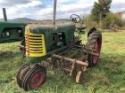 Oliver Row Crop Tractor With Cultivator, #180 GBK Super 66