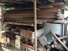 Pallet Rack With Wood, Wheels/Tires & Miscellaneous