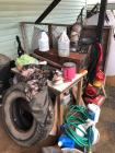 Table, Vacuum Cleaner, Electric Pole Saw & Miscellaneous